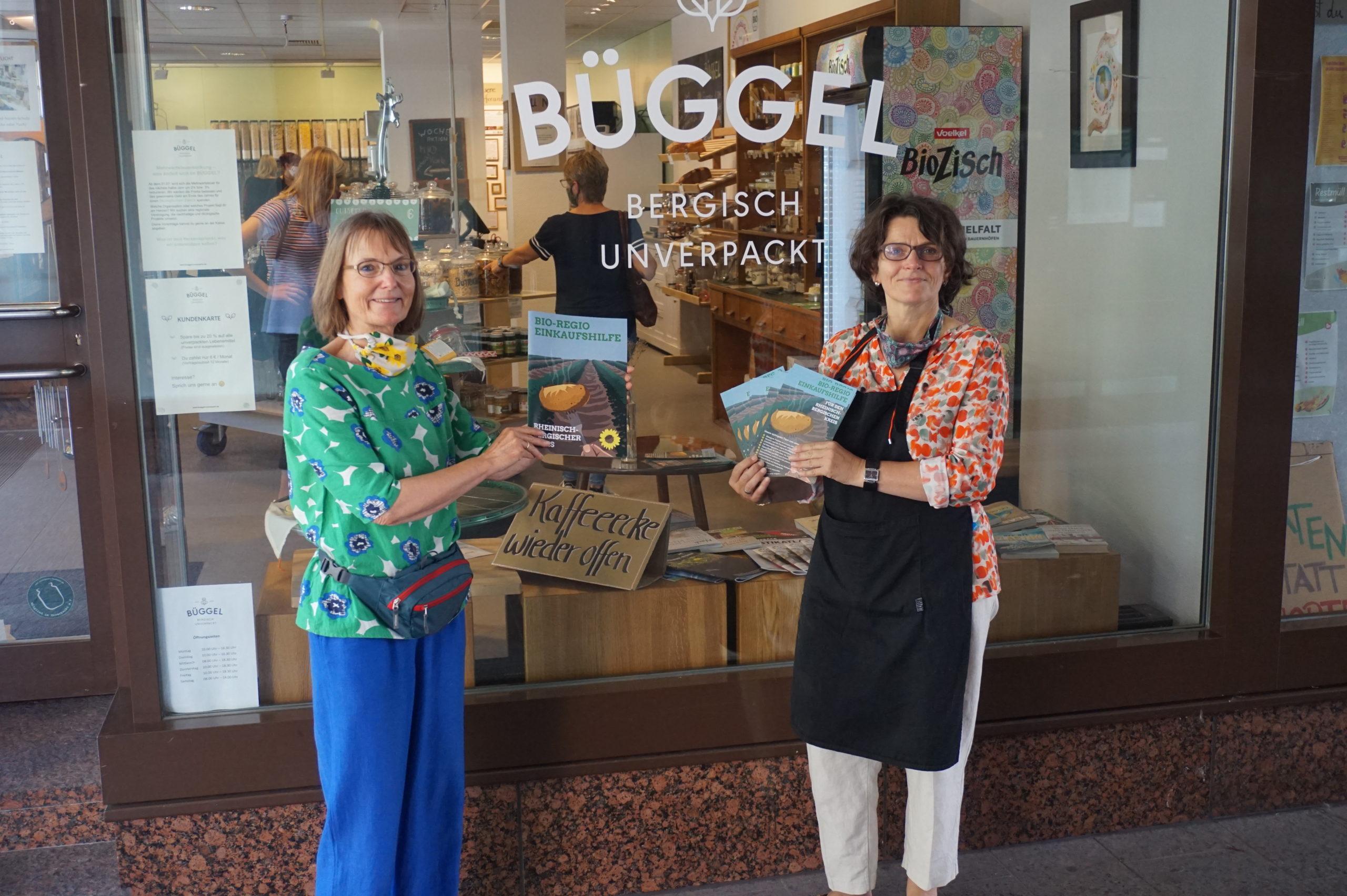 GRÜNE stellen Bio-Regio Einkaufshilfe für den Rheinisch-Bergischen Kreis vor