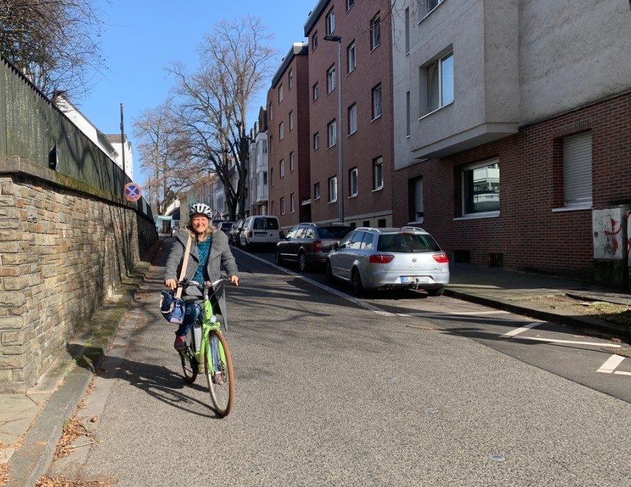 Die Laurentiusstraße soll zur Fahrradstraße umgewandelt werden