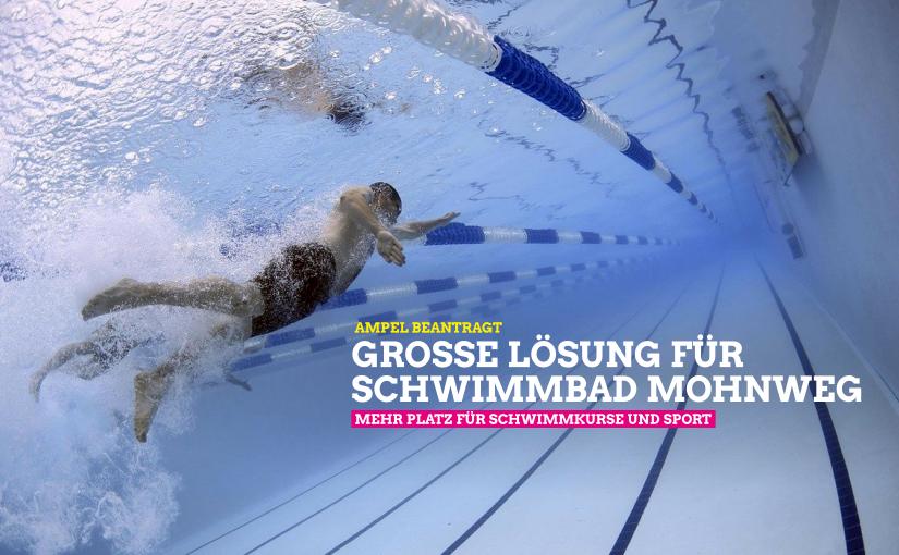 """""""Große Lösung"""" für den Neubau des Schwimmbads Mohnweg"""